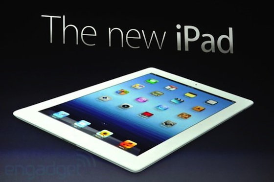 Apple announces new iPad