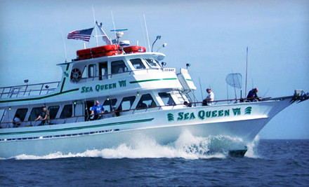 Half-Day Morning or Afternoon Fishing Excursion for Two or Four from Sea Queen VII in Brooklyn (Up to 54% Off)