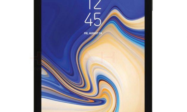 New renders of Samsung Galaxy Tab S4 Tablet